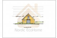 Schuurwoning_Vgevel_Nordic EcoHome_Hth-2020